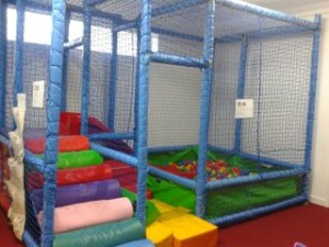 Come and play on the soft play.
